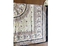 pure cotton printed sheet - queen size