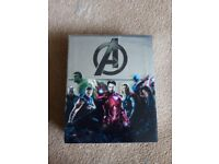 Marvel (MCU) Phase 1 limited edition Blu ray boxset - Used but in very good condition, like new