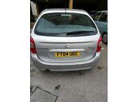 Citroen picasso 2004 petrol spares or repair