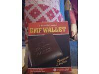 Mans wallet like pulp fiction