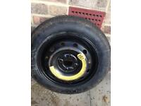 Fiat 4/98 space saver 135/80/14 good tyre 4x98 fit fiats and other 4/98