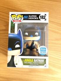 Limited edition Jungle Batman Pop Vinyl