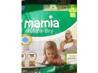 Mamia nappies size 3 & 5