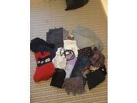 Bundle of woman's size 8 clothes