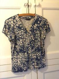 BHS short-sleeved top