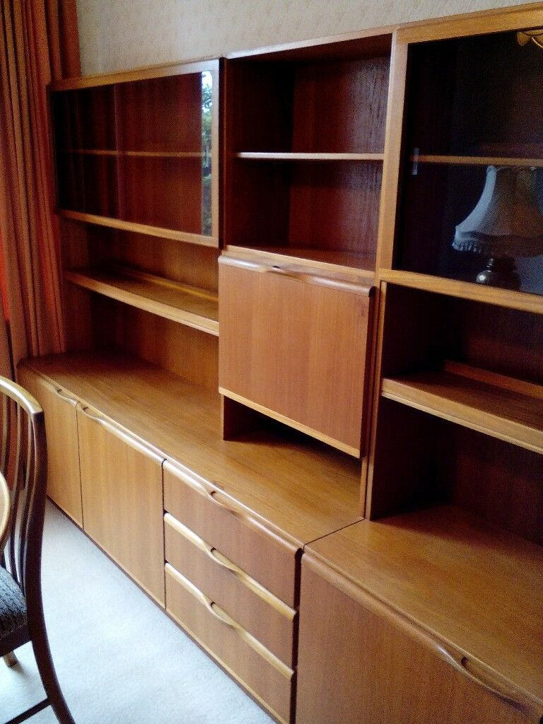 Gorgeous Wooden Dining Room Units Featuring Drinks Cabinet