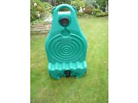 Royal water barrell and handle 40 ltr and Warrior waste container