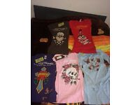 Wholesale Joblot of 100 pieces of Ed Hardy T shirts sizes small medium large and xxl