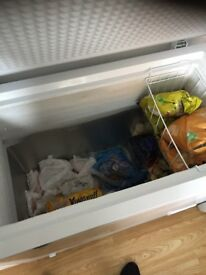 Swan 192 litre chest freezer 4 months old