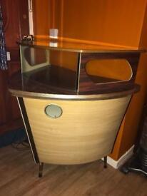 Vintage/Retro boat bar