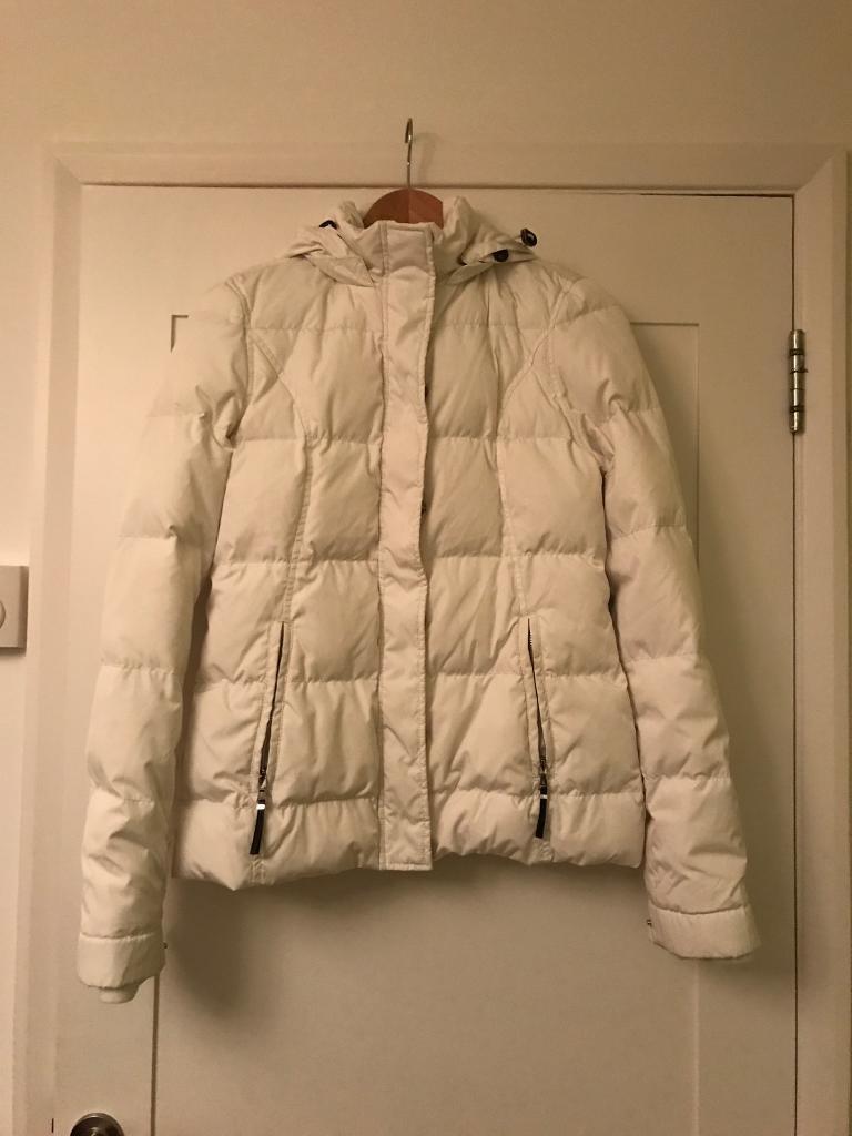 Tommy Hilfiger Women's Cream Puff jacket Size S