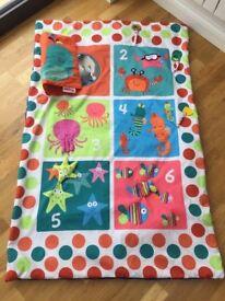 Nuby sea-themed play mat