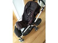 Used Bugaboo Bee Pushchair Pram with Buggy Board