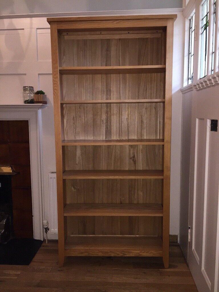 Large Solid Wood Bookcase Oak Or Ash In Bearsden Glasgow Gumtree