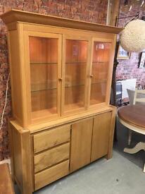 Solid oak dresser