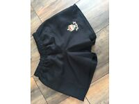 Cleeve Rugby Club training shorts mens size small black