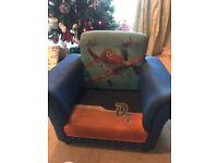 Planes Disney children's upholstered chair