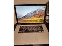 """Macbook Pro 15"""" - i7 Quad - Excellent condition"""