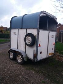 Rice international horse trailer