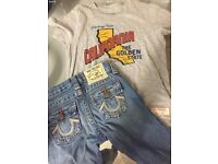 Boys true religion outfit age 4 new