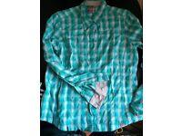 Lowe Alpine Cassava long sleeve shirt - Size 14 - brand new