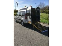 2007 FIAT DOBLO DYNAMIC, DISABLED WHEELCHAIR ACCESS HIGH ROOF 1.9 TURBO DIESEL