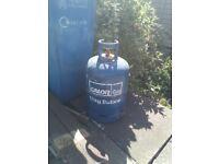 Blue 15kg butane gas bottle