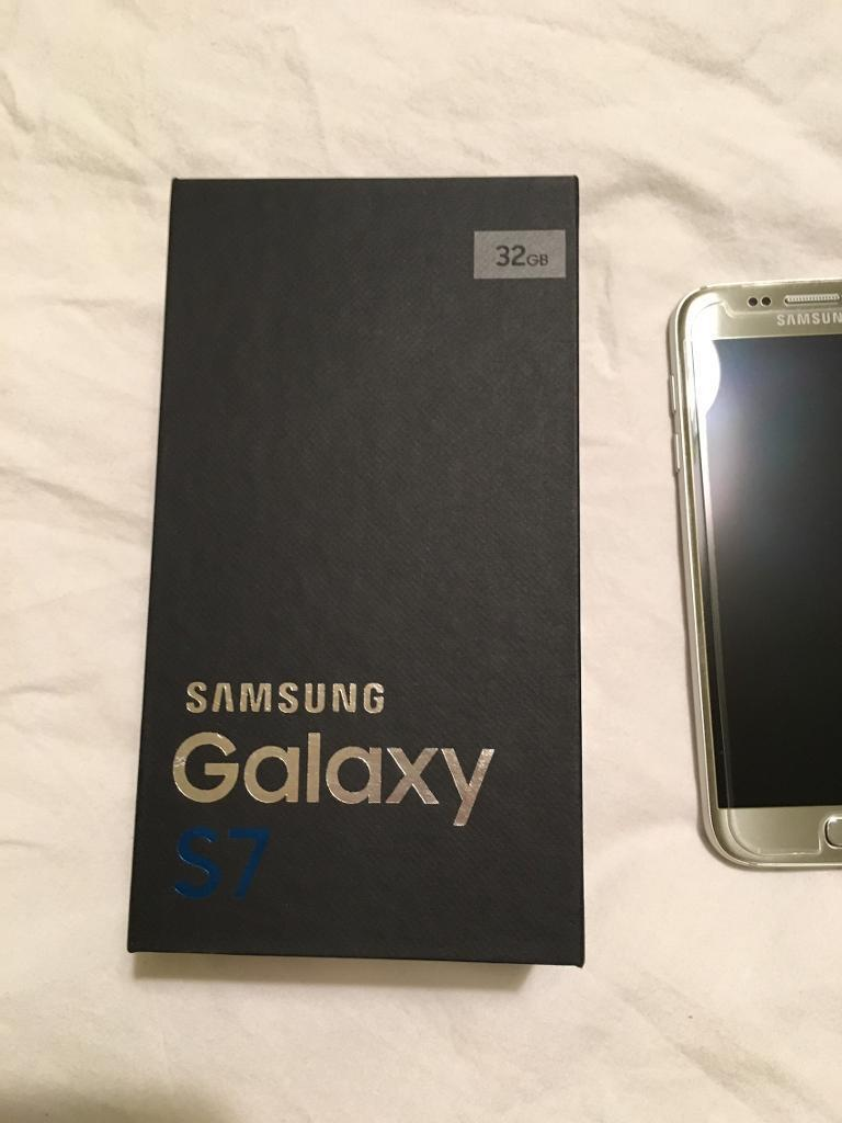 Samsung Galaxy S7 Limited Edition Titanium Silver for sale