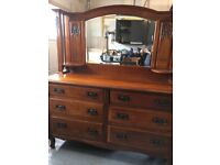 Beautiful Antique Sideboard with mirror