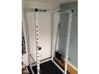 White Power Cage by Gorilla Sports