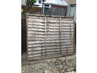 Fence pnnel 6ft by 5ft