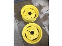John Deere tractor wheels