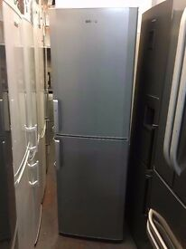 BEKO TALL FRIDGE FREEZER SILVER RECCONDITIONED