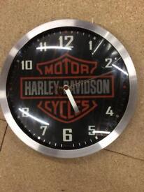 Harley Davidson authentic clock