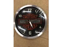Harley Davidson authentic clock
