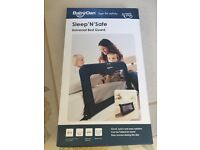 Babydan bed guard / bed rail new in box blue