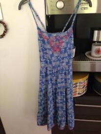 Fat Face Girl Age 8-9 Summer Dress