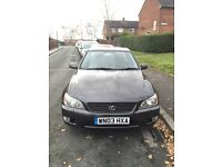 2003 03 LEXUS IS 200 SE MANUAL FOR SALE