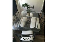 Dining Table & 6 Chairs (in Good Condition)