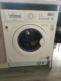 Electrolux time manager integrated washing machine