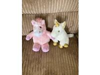 Unicorn door stopper and unicorn heat warmer. £8 for both