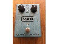 MXR M173 Classic 108 Fuzz Guitar Effect Pedal