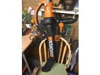 Worx 240v leaf blower/vacuum