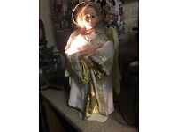 Freestanding moving Angel figure