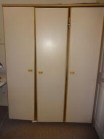 3 door cupboard for sale