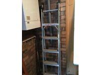 Aluminium ladders excellent condition