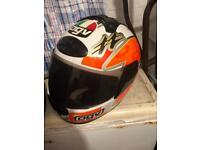 2x agv helmet