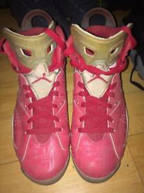Limited edition Jordan retro 6 x Slam dunk