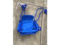 Baby swing seat & child seat brand new blue