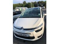 PCO licensed Citroen Grand Picasso C4, ready for an Uber driver job